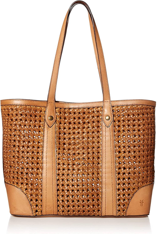 Frye Melissa Woven Shopper Bag