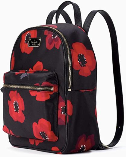 Kate Spade New York Small Bradley Wilson Road Poppy Backpack