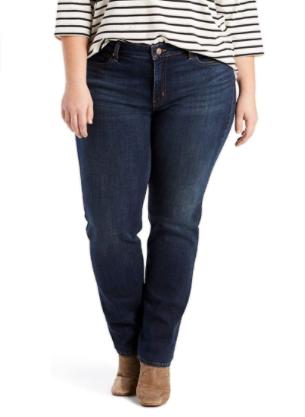 Levi's Plus-Size Classic Straight Jeans