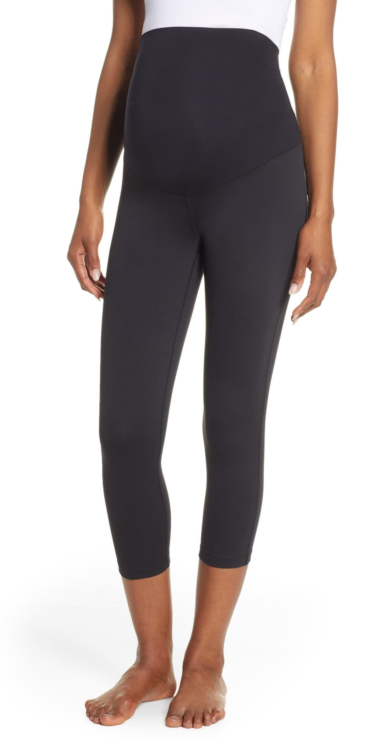 Live In Maternity Crop Leggings