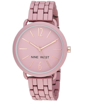 Nine West Rubberized Bracelet Watch
