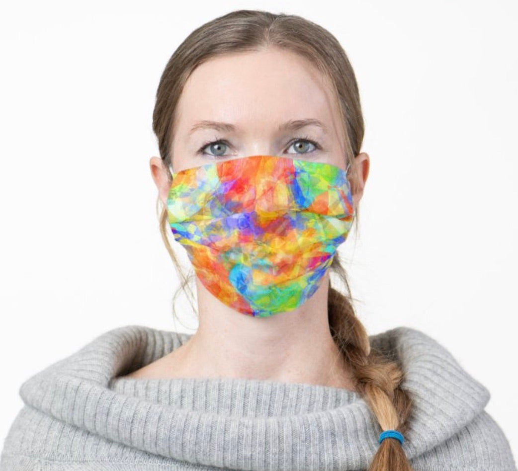 Pattern Cloth Face Mask
