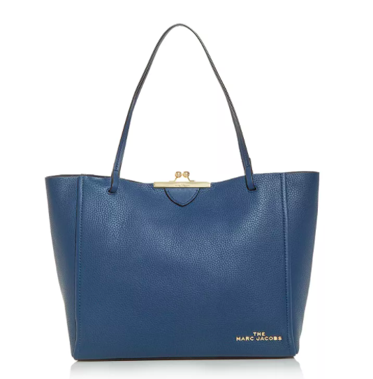 The Marc Jacobs The Kisslock Leather Tote