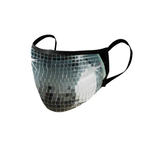Threadless Disco Ball Face Mask
