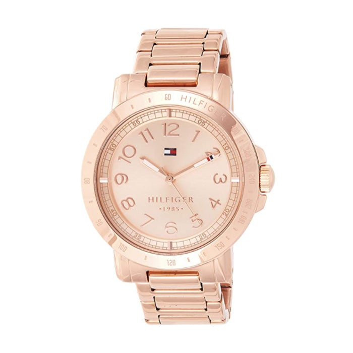 Tommy Hilfiger Rose Gold-Tone Watch