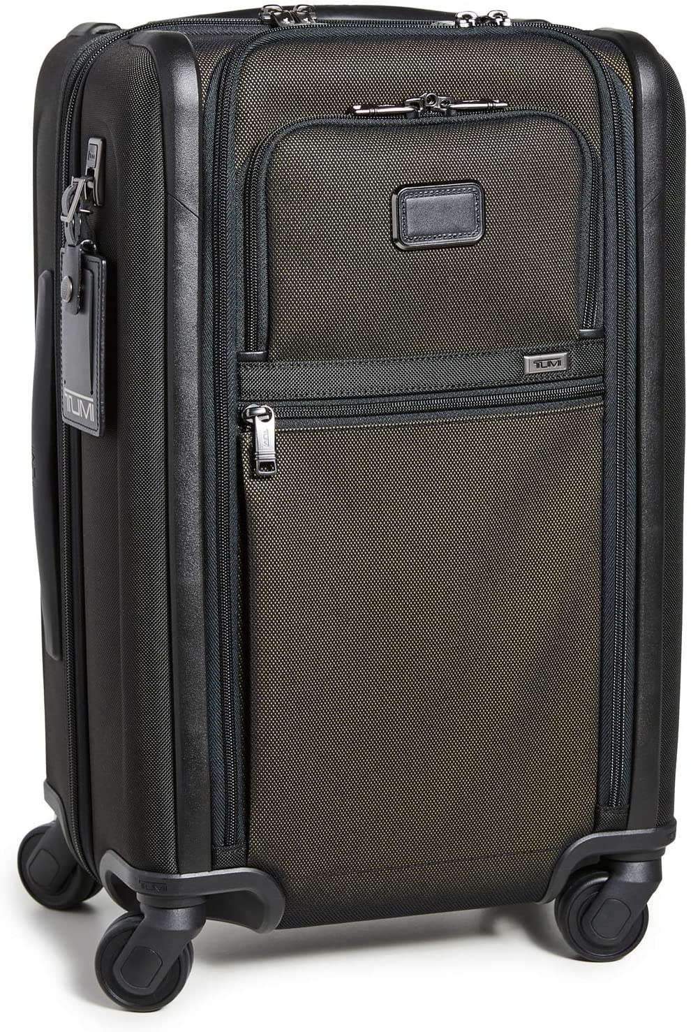 TUMI Alpha 3 International Dual Access 4 Wheeled Carry-On Luggage, 22 Inch Rolling Suitcase