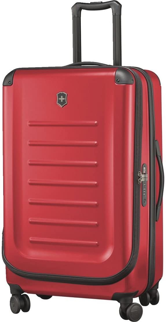 """Victorinox Spectra 2.0 Hardside Spinner Suitcase, Red, Expandable Checked-Large (30"""")"""