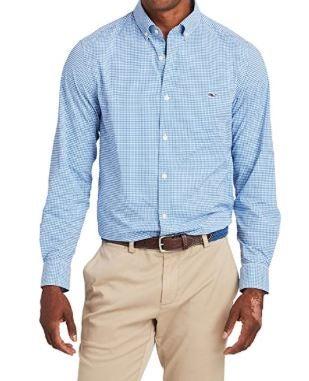 Vineyard Vines Men's Lisbon Performance Classic Fit Tucker Shirt
