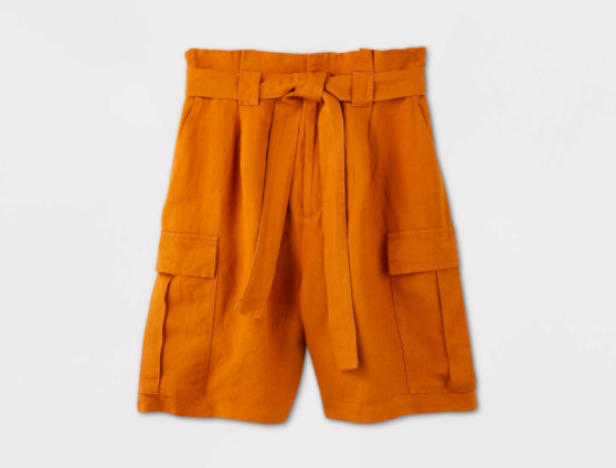A New Day High-Rise Utility Bermuda Shorts