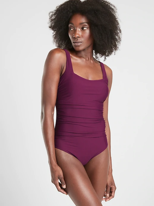 Athleta Square Neck One Piece