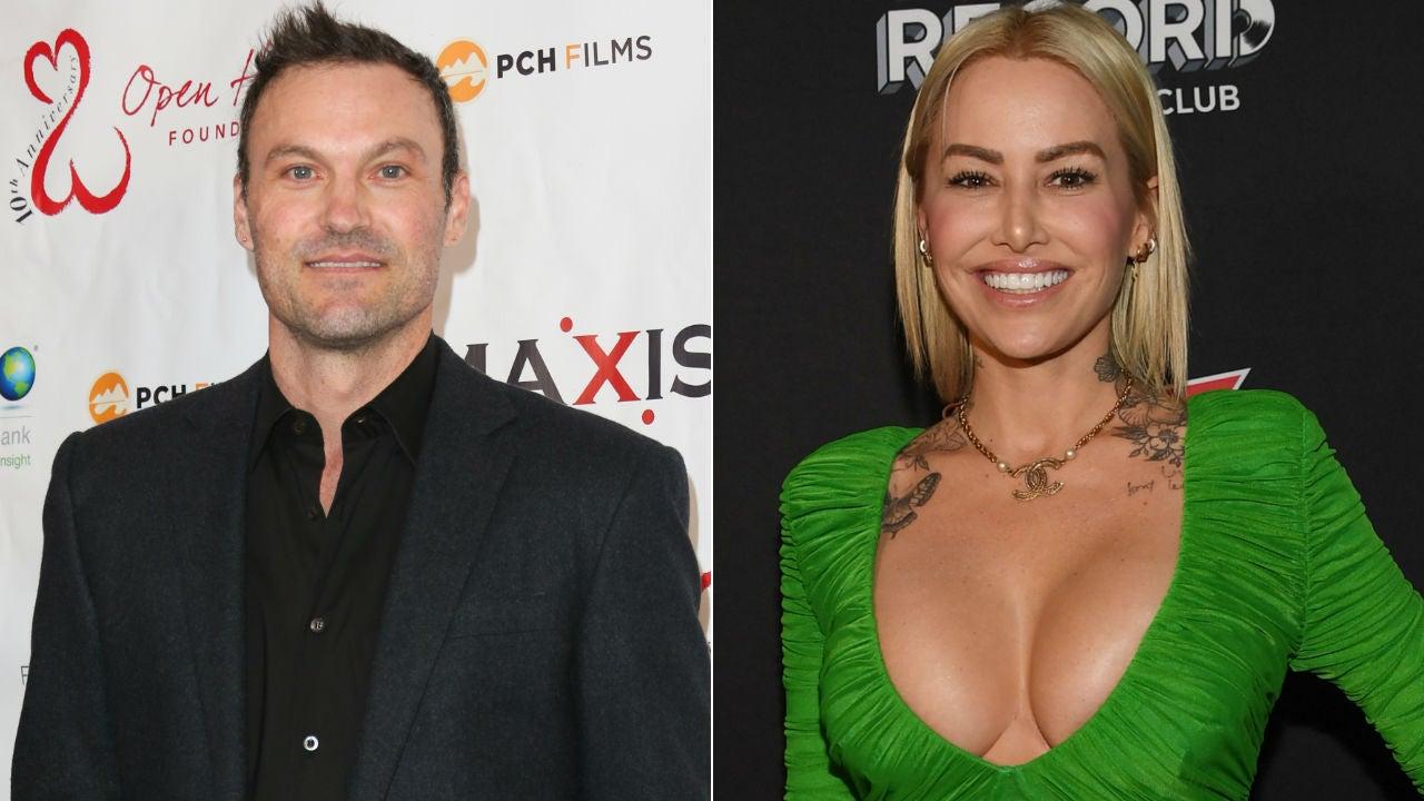 Brian Austin Green Has Lunch With Australian Model Tina Louise Following  Megan Fox Split | Entertainment Tonight
