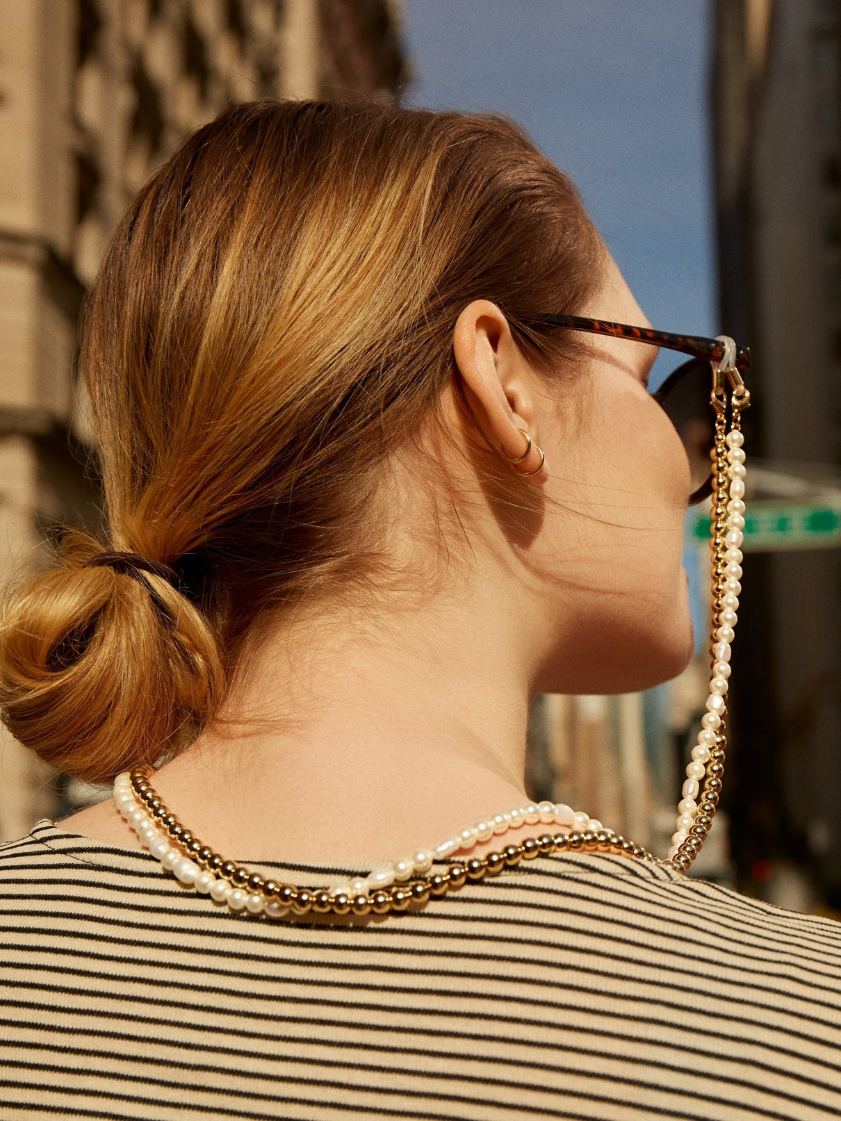 Convertible Pearl Sunglass Chain and Necklace