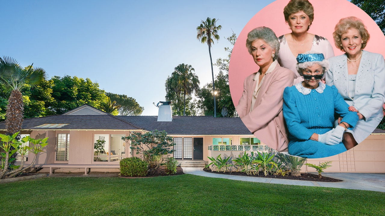 Golden Girls House Owner Puts Residence Up For Sale Shares Memories Of Beloved Sitcom Exclusive Entertainment Tonight,2 Bedroom House Plans With Basement