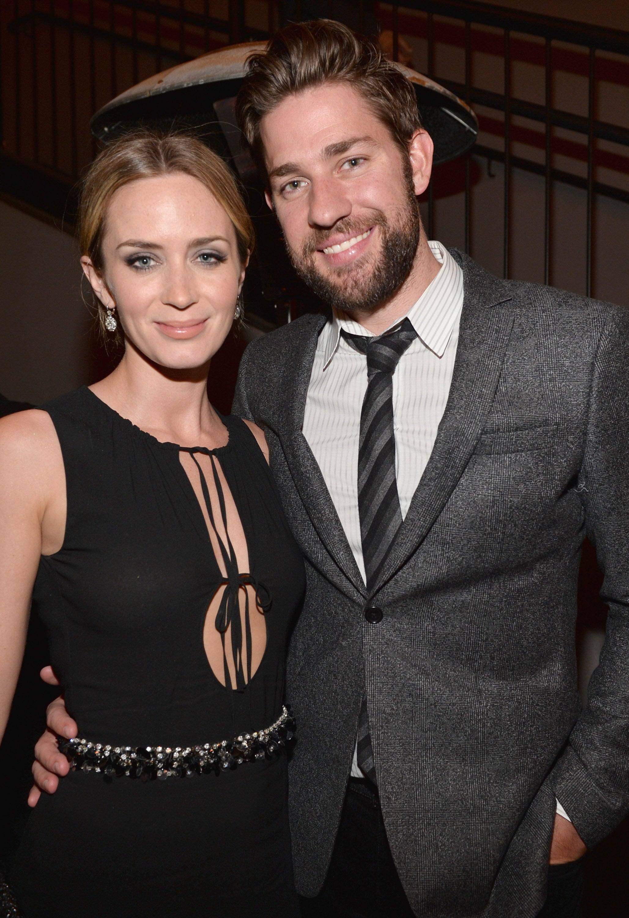 Emily Blunt Is Over The Moon That Her And John Krasinski S Kids Have British Accents Entertainment Tonight