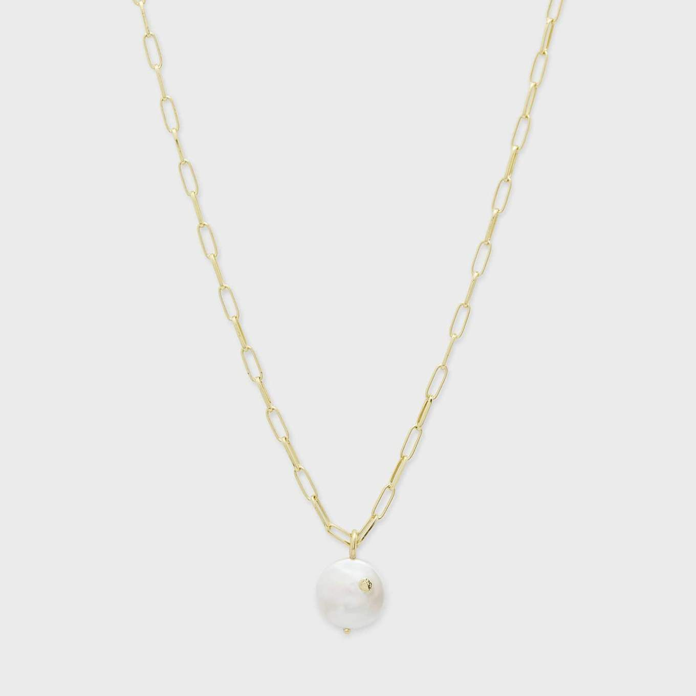 Gorjana Reese Pearl Necklace