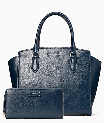 Jeanne Medium Satchel and Large Continental Wallet Bundle