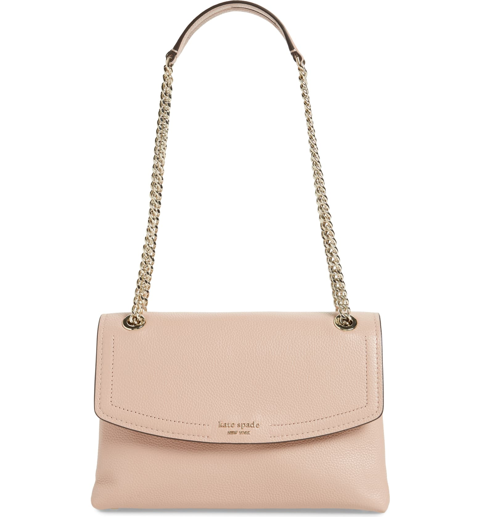 Large Florence Leather Shoulder Bag