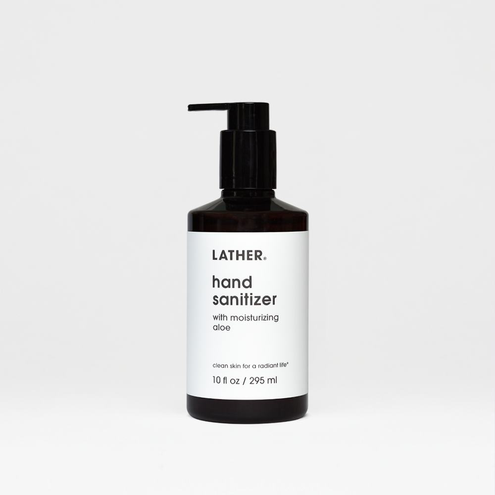 Lather Hand Sanitizer with Moisturizing Aloe