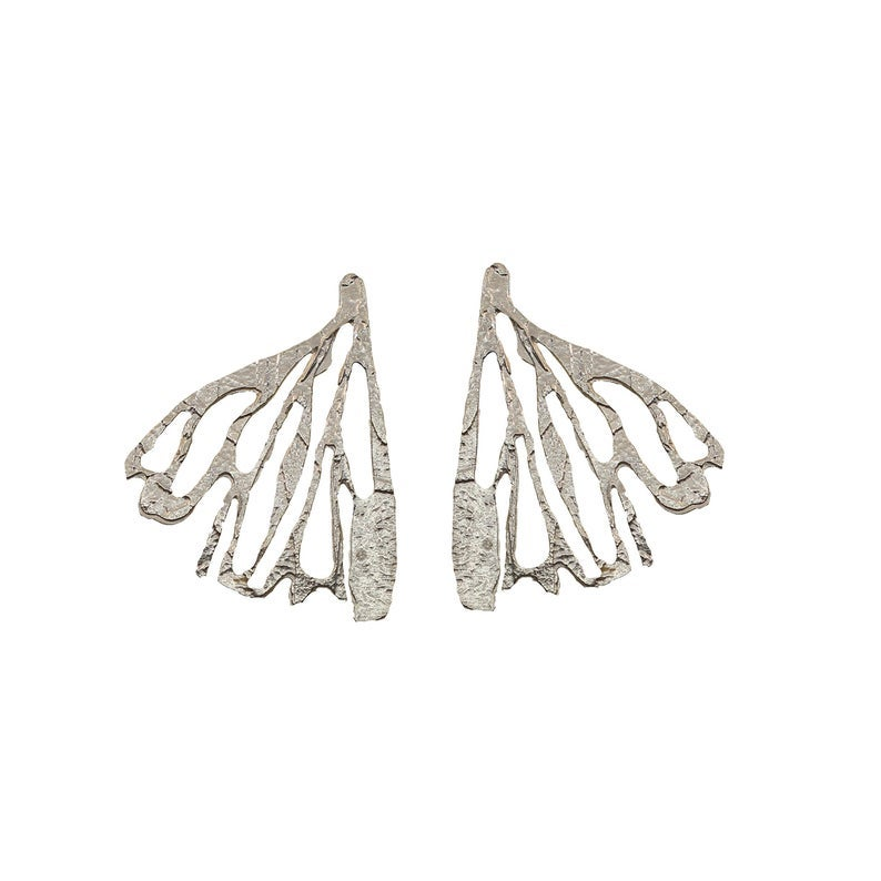 Lingua Nigra Edge of the Earth - Sterling Silver Acid Etched Hand Cut Earrings.jpg