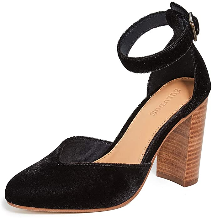Soludos Collette Heel Black