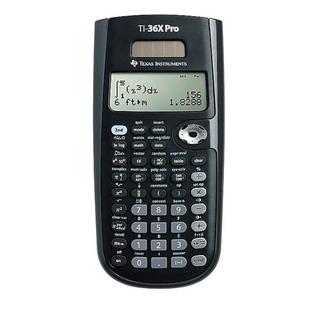 Texas Instruments TI-36X Pro 16-Digit Scientific Calculator