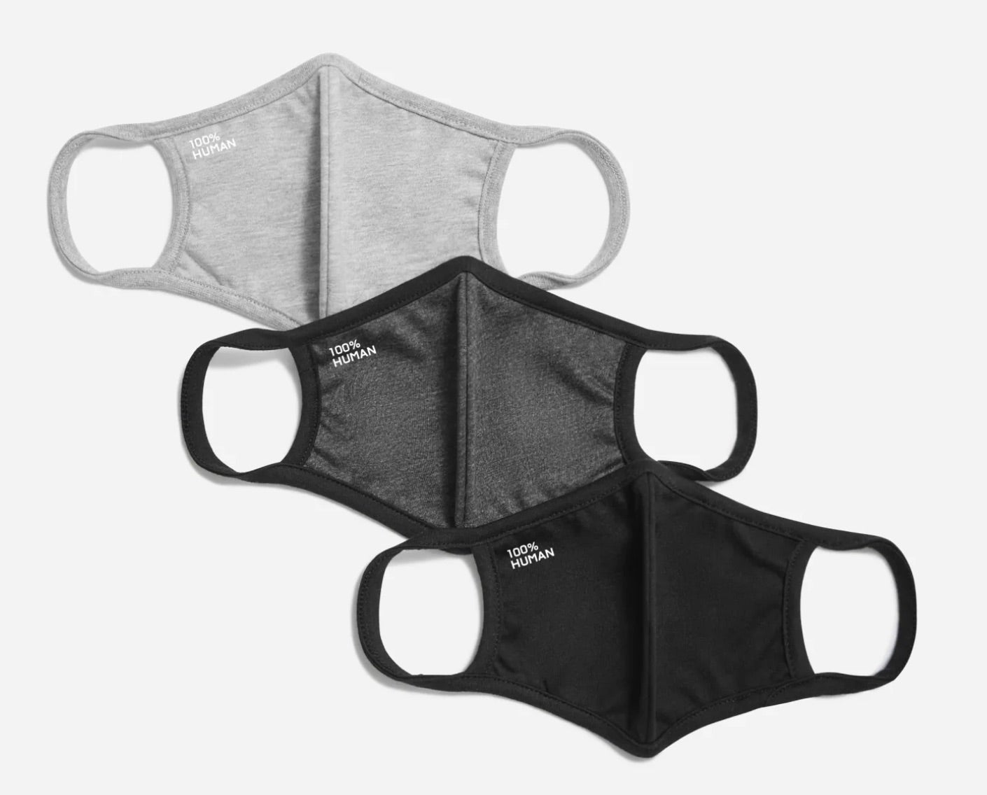 The 100% Human Face Mask Three-Pack