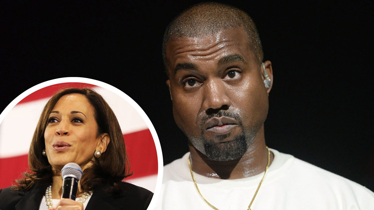 Kanye West Says It S An Honor To Run Against Kamala Harris In 2020 Election Entertainment Tonight