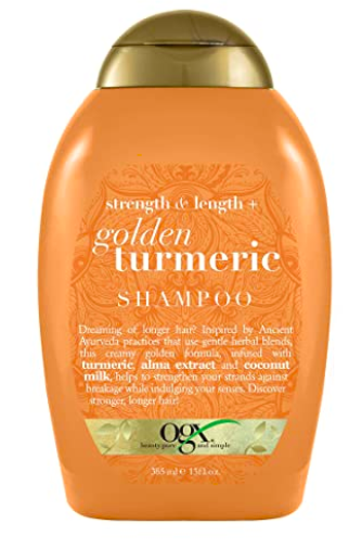 OGX Strength & Length + Golden Turmeric Shampoo with Coconut Milk