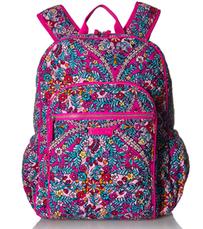 Vera Bradley Signature Cotton Campus Backpack