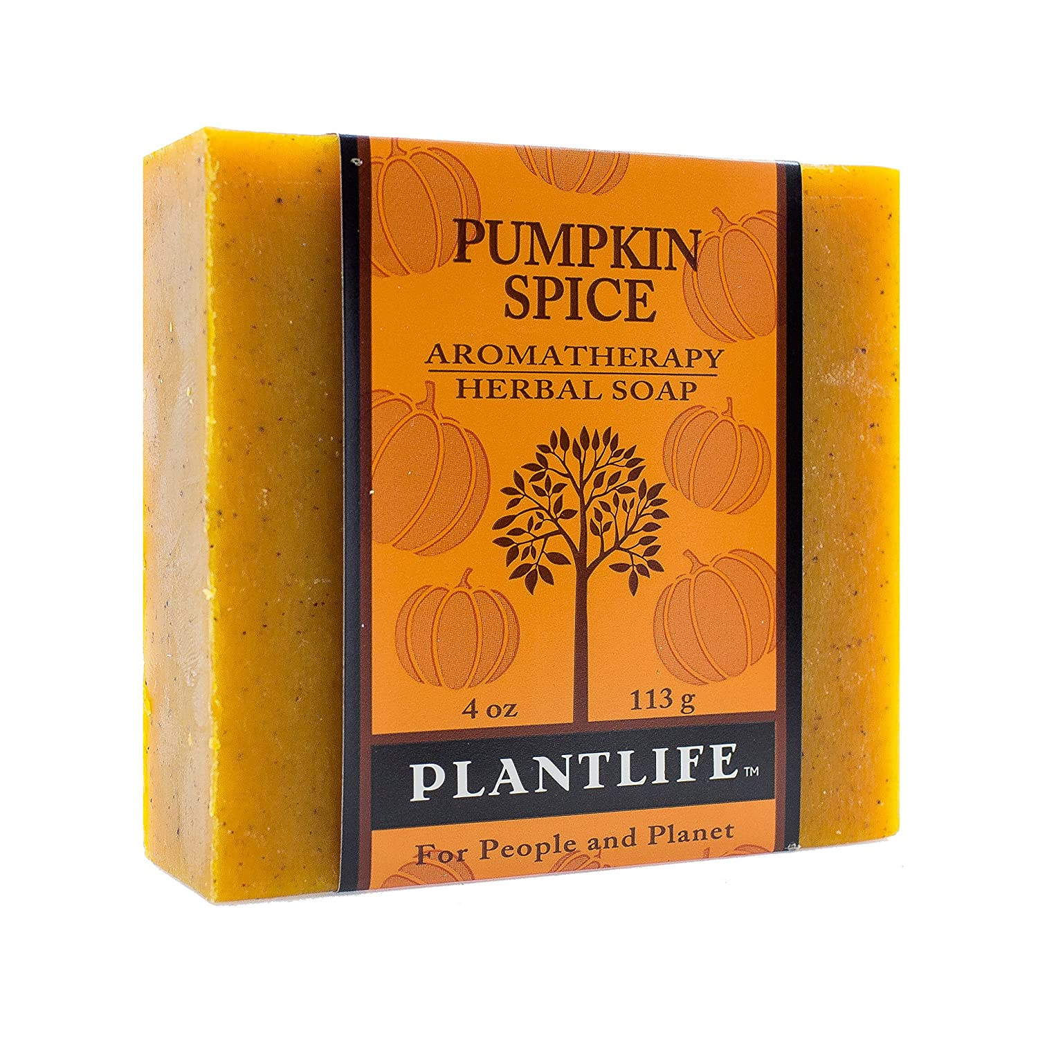 Plantlife Pumpkin Spice Pure & Natural Aromatherapy Herbal Soap