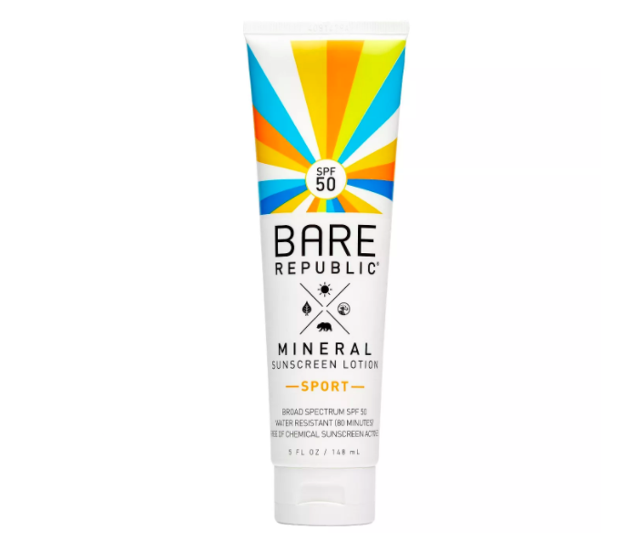 Bare Republic Mineral Sport Sunscreen Lotion - SPF 50