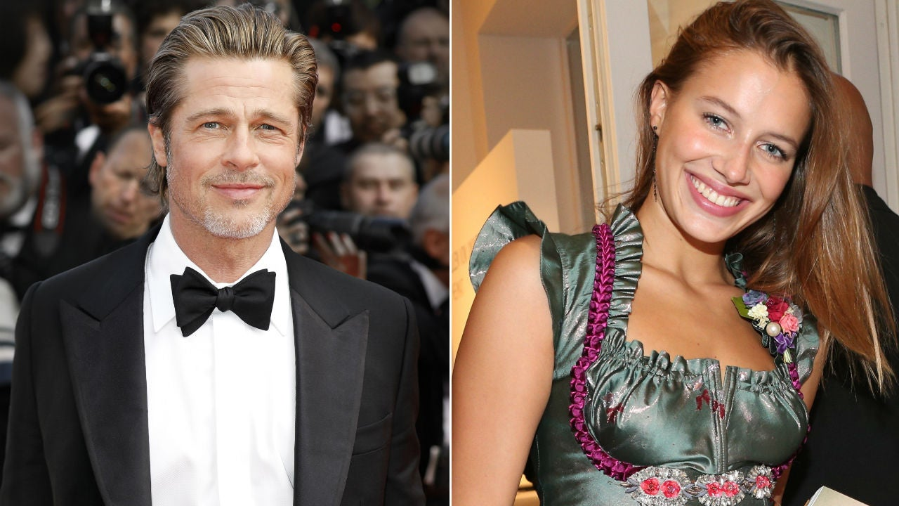Brad Pitt And Nicole Poturalski Call It Quits They Were Never A Big Deal Entertainment Tonight