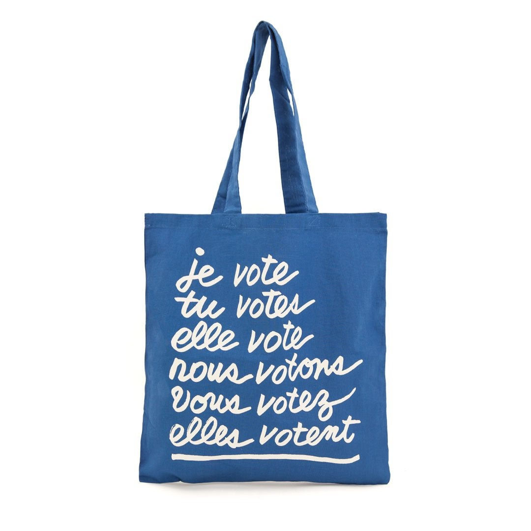 Clare V. CV x When We All Vote Canvas Tote
