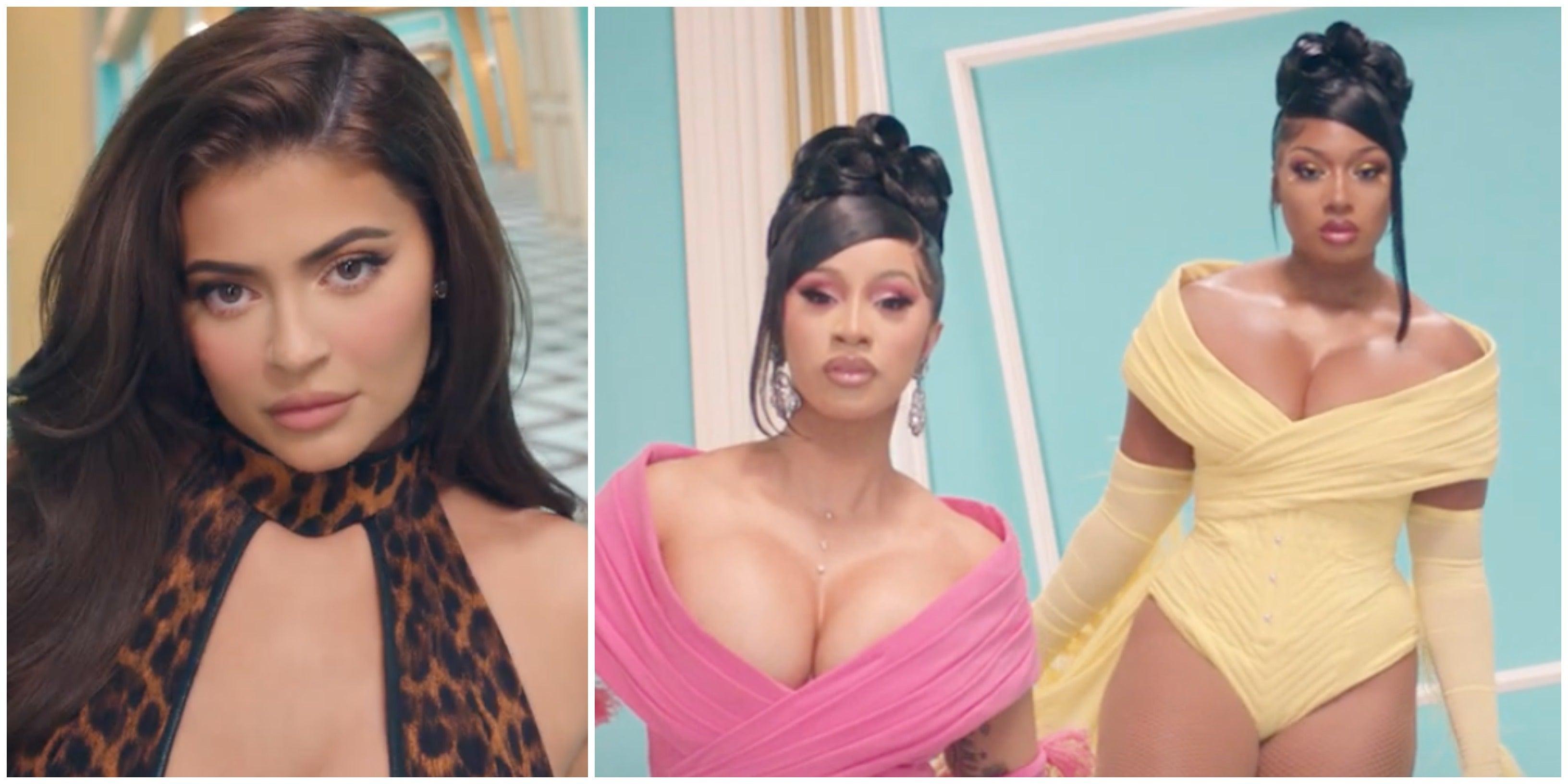 Cardi B And Megan Thee Stallion Drop Wap Video Kylie Jenner