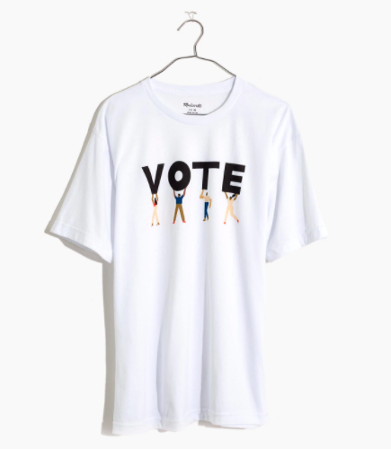 Madewell Vote Graphic Unisex Tee