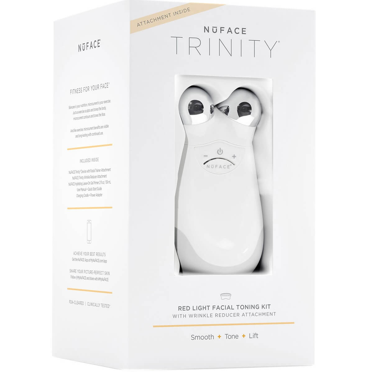 NuFace Trinity Wrinkle Reducer Attachment Set
