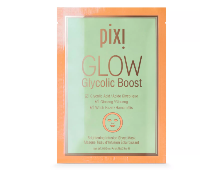 Pixi GLOW Glycolic Boost - Brightening Face Mask Sheet