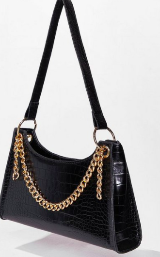 Nasty Gal WANT Chain-ge for the Better Shoulder Bag