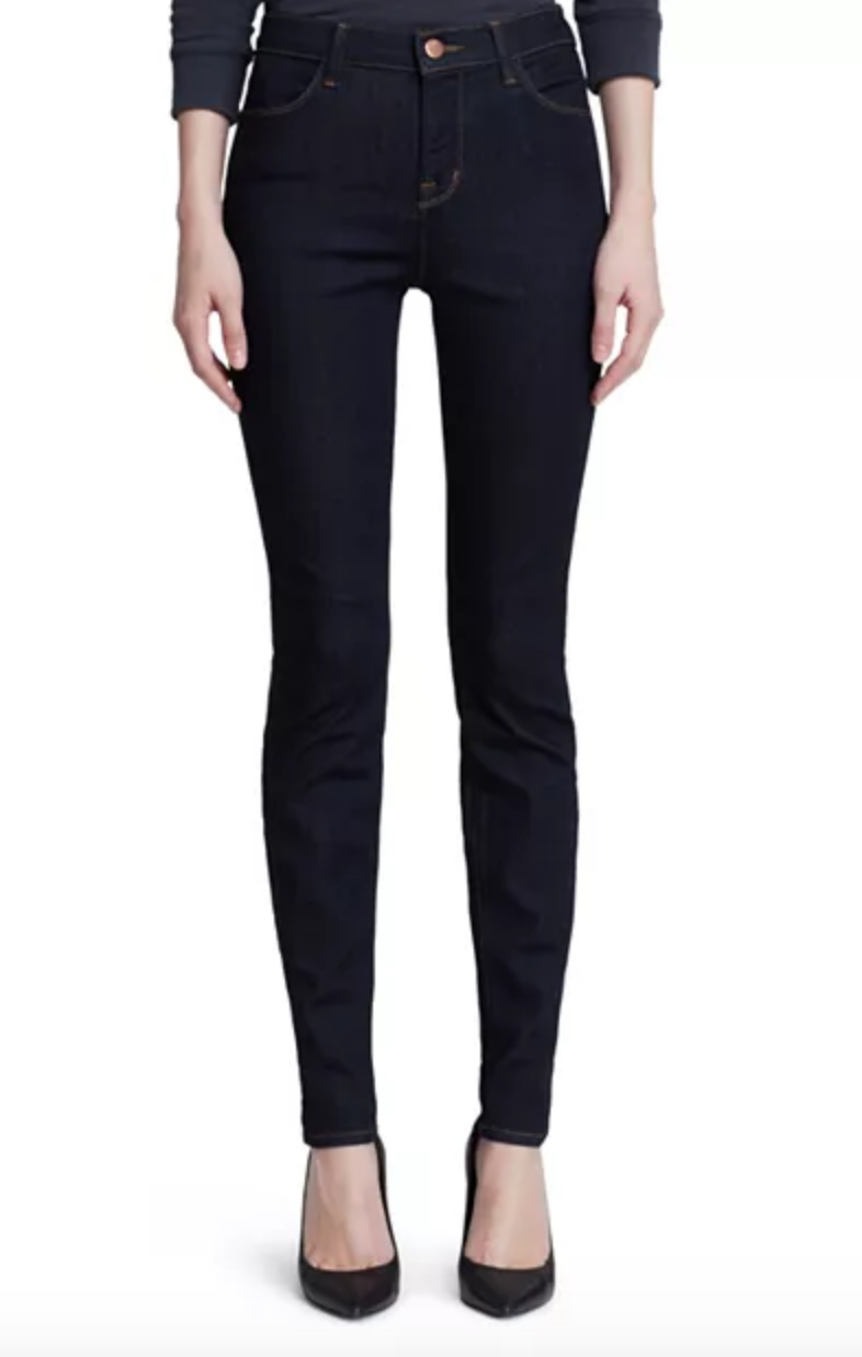 Maria High-Rise Skinny Jeans in Afterdark