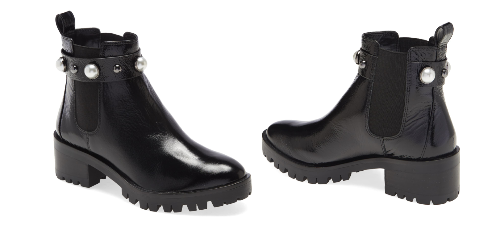 These Karl Lagerfeld Booties