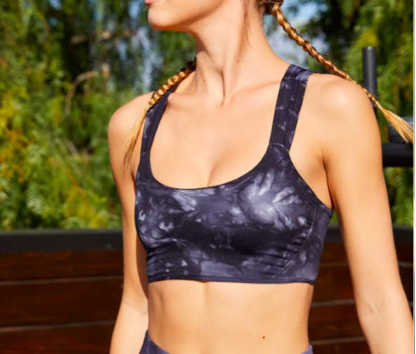 Free People On The Radar Bra Tie Dye