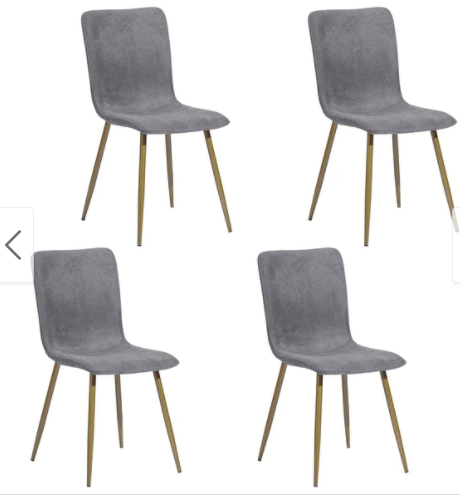 Carson Carrington Viken Mid-century Upholstered Dining Chairs (Set of 4)