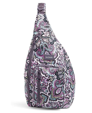 Vera Bradley Women's Recycled Lighten Up Reactive Sling Backpack