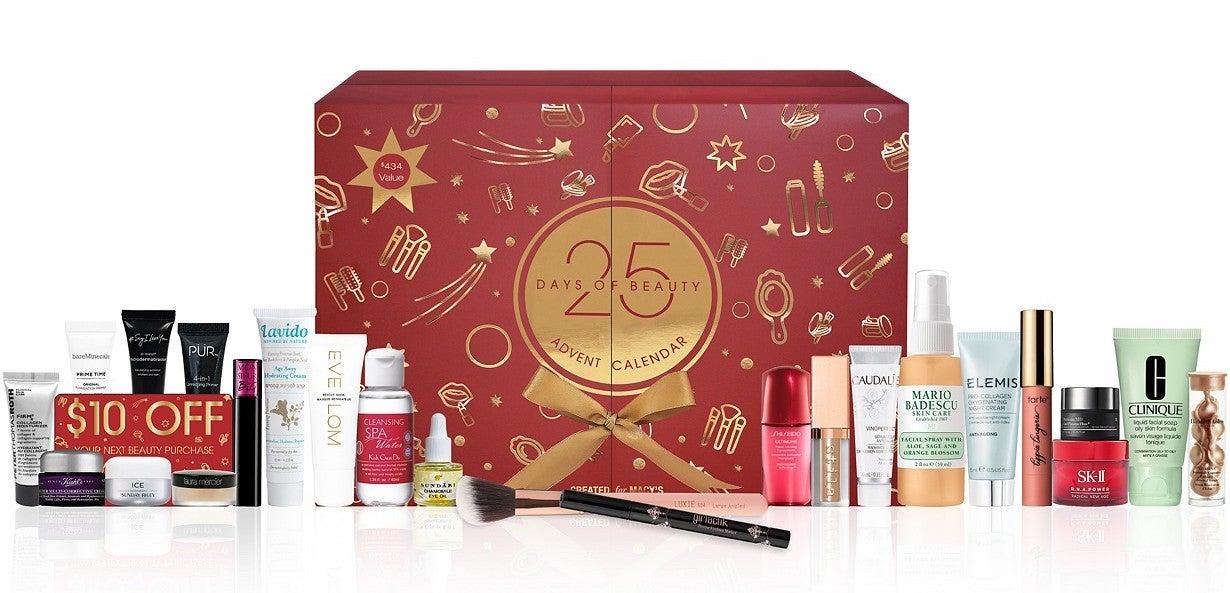 25 Days Of Beauty Advent Calendar, Created for Macy's