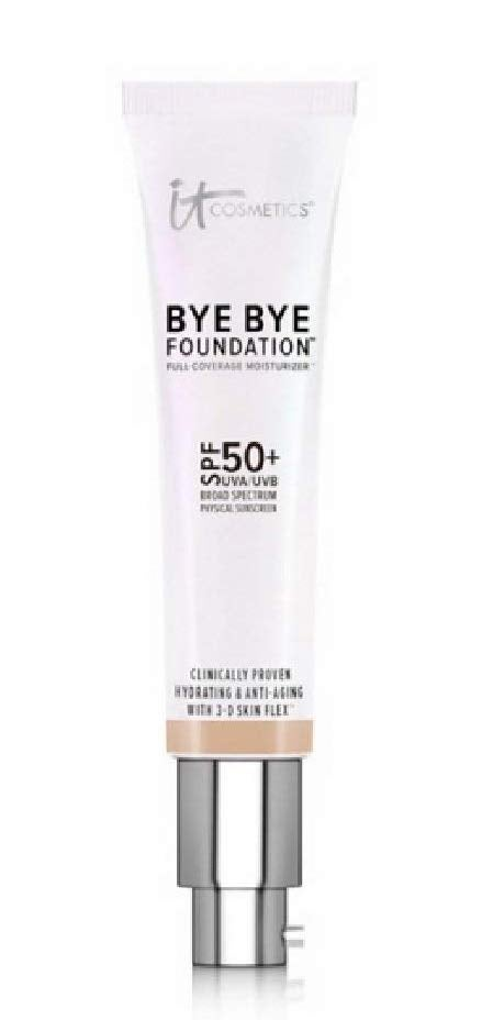 It Cosmetics Bye Bye Foundation Spf 50+ Full Coverage Anti-aging Moisturizer