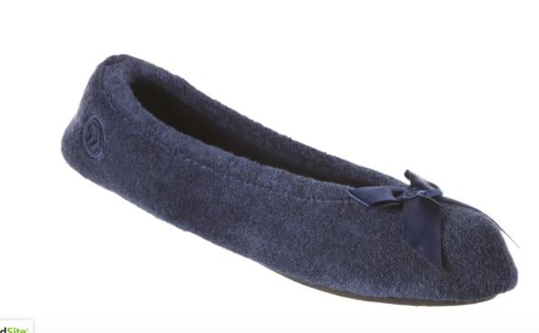Isotoner Classic Terry Ballerina Slippers