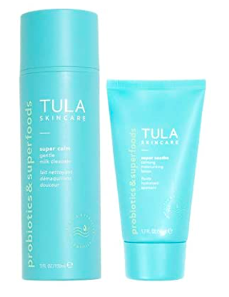 TULA Probiotic Skin Care So Gentle Cleanser + Moisturizer Duo