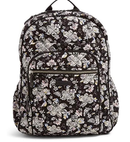 Vera Bradley Signature Cotton XL Campus Backpack