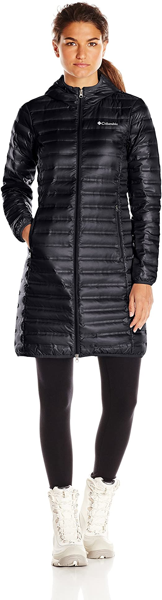 Columbia Women's Flash Forward Long Down Jacket