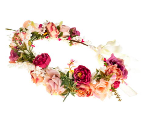 Amazon Rose Flower Headband